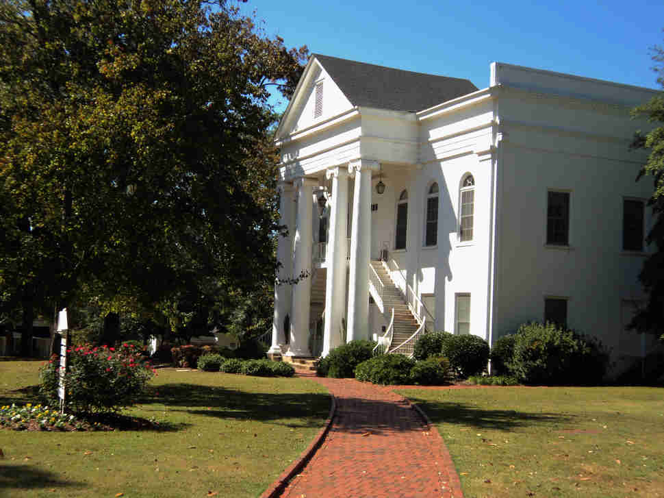 Montevallo university campus