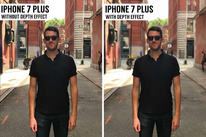 iphone 7 plus depth effect
