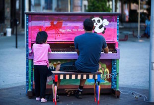 'Play Me, I'm Yours': The Pianos Are Back in Boston