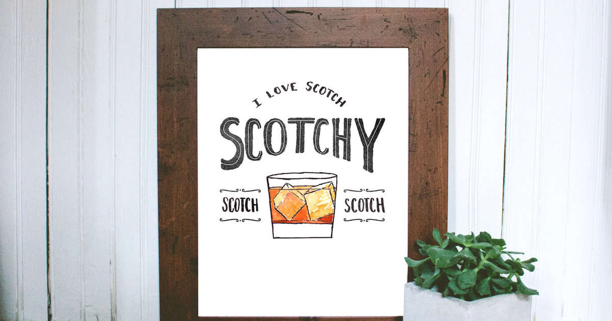 Scotch Gifts for Scotch Lovers