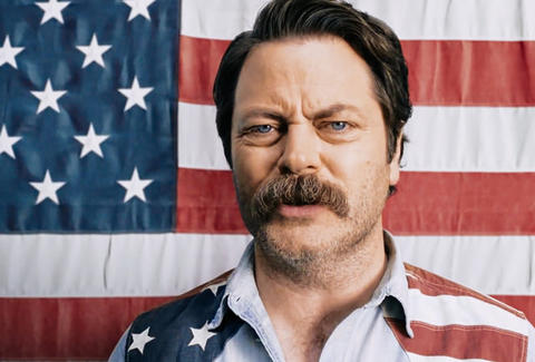 Nick Offerman Tom Sawyer