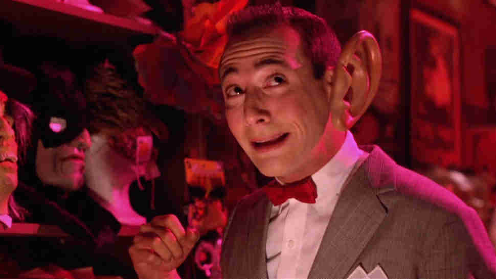 Pee-Wee's Big Adventure Tim Burton
