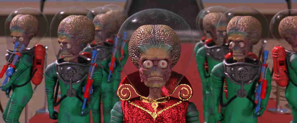 Mars Attacks! Tim Burton