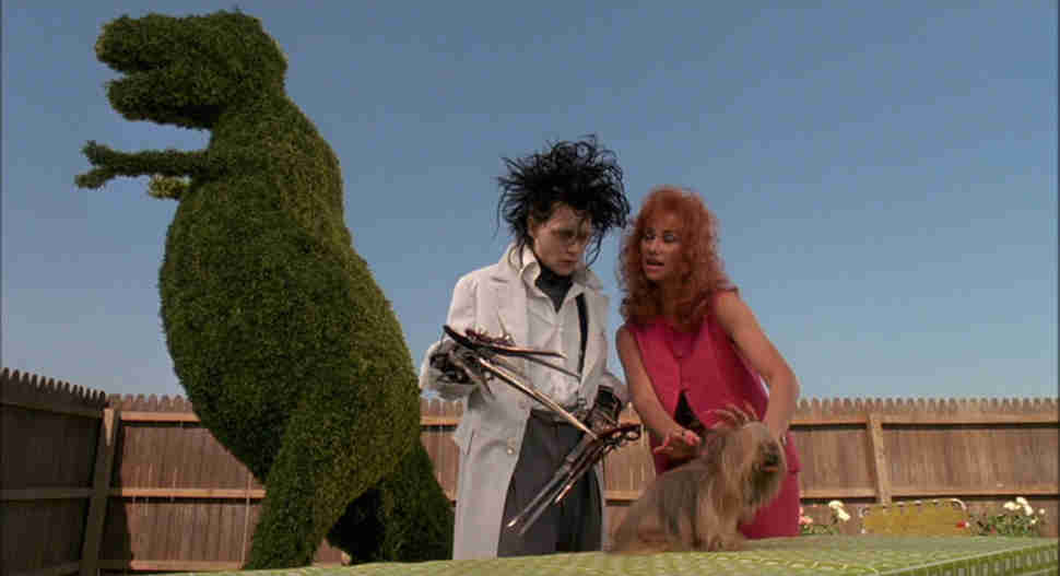 Edward Scissorhands Tim Burton