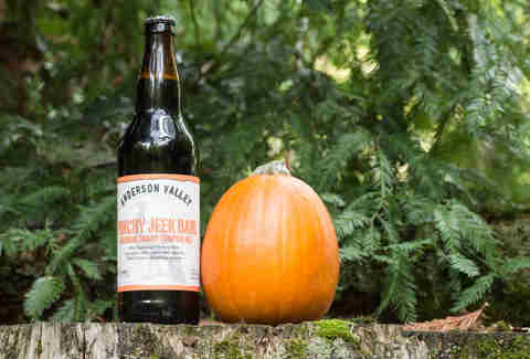 Anderson Valley pumpkin beer
