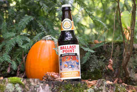 Ballast Point pumpkin beer