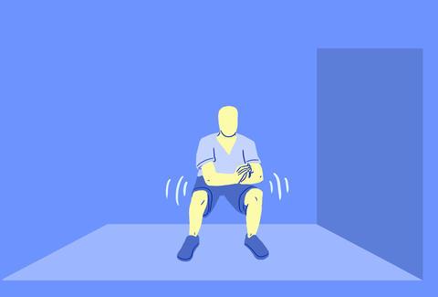 low-squat pulse