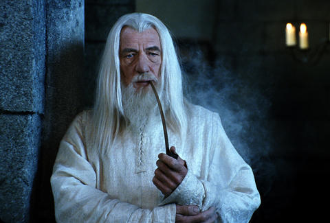 lord of the rings + weed