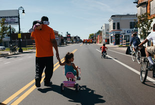 Open Streets Detroit Is Paving the Way for a More Bike-Friendly Motor City