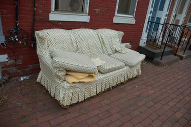 old couch free