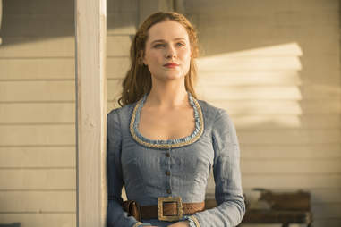 evan rachel wood on westworld