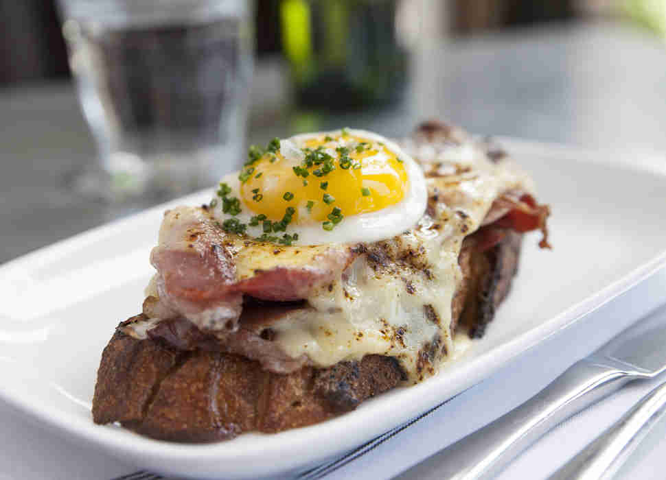 St. Genevieve Minneapolis croque madam