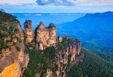 The Three Sisters From Echo Point, Blue Mountains National Park, NSW, Australia