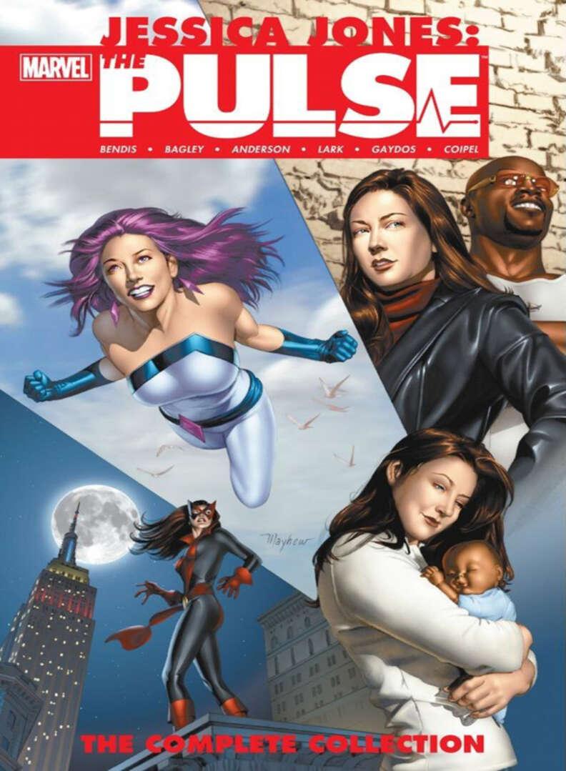 jessica jones the pulse luke cage comics