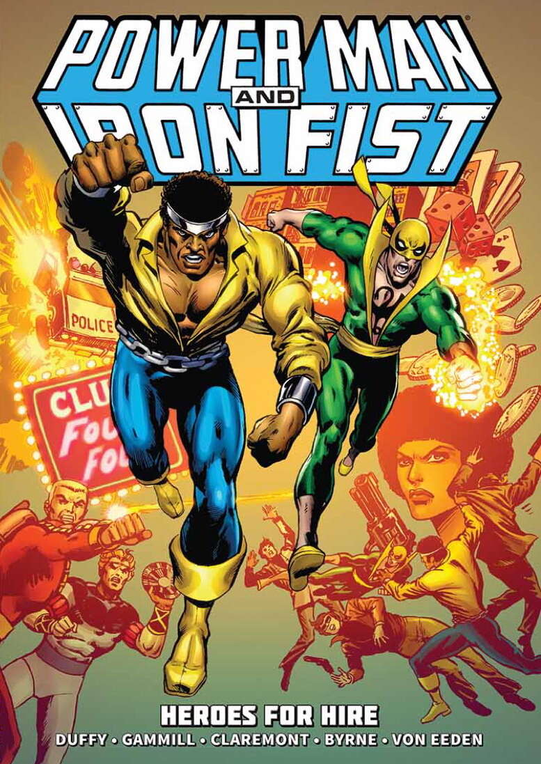 power man and iron first marvel comics