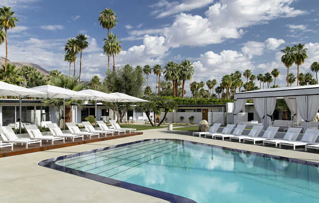Going to Desert Trip This Weekend? Cool Off at Palm Springs' 8 Hottest Hotels.