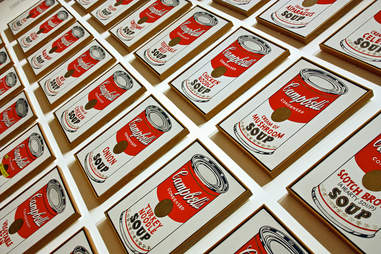 warhol's campbell soup