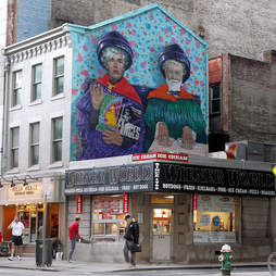 the two andy's mural
