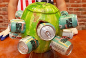 The Watermelon Beer Cooler Is the Only Way to Tailgate