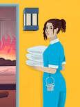 motel housekeeper