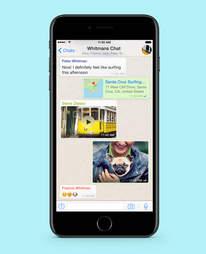 whatsapp in iphone