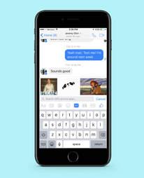 facebook messenger in iphone