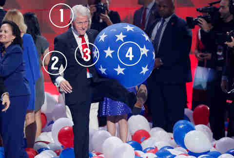 bill clinton balloons halloween costume