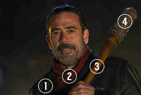the walking dead negan halloween costume