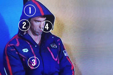 michael phelps face halloween costume