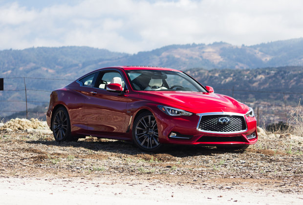 First Drive: Infiniti's New Q60 Red Sport Is Unlike Anything in Its Class
