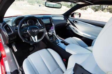 2017 Infiniti Q60 Red Sport 400 Interior