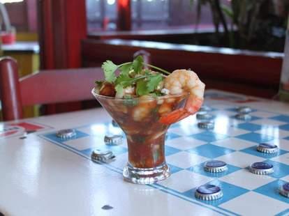 Mexican Tex-Mex Shrimp