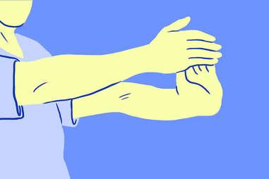 Alternating Wrist Pull