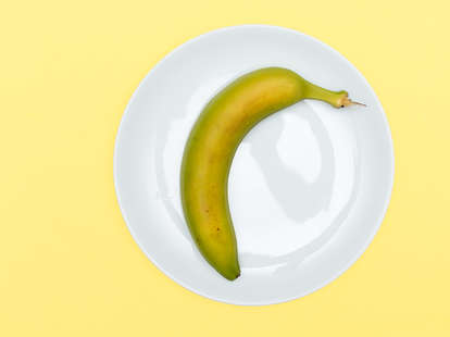 unripe banana