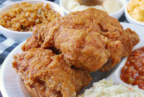 Gus's Fried Chicken Detroit