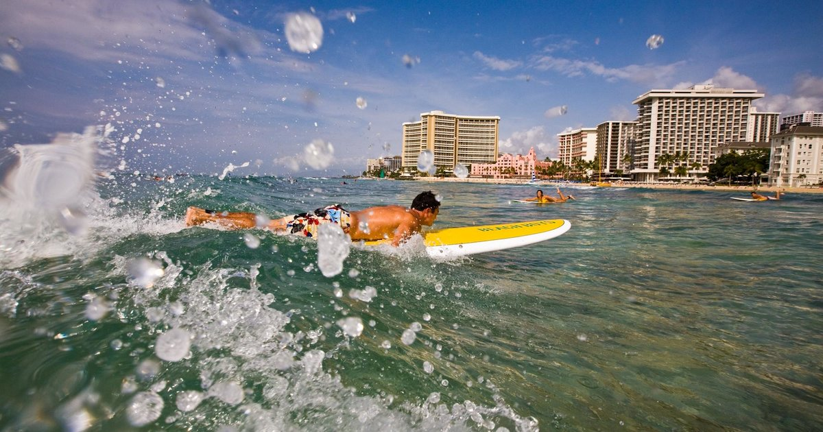 Best Beach to learn to Surf - Review of Haleiwa Beach Park ...