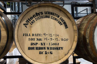 Bourbon Barrel in Kentucky