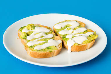 Avocado Toast and ranch
