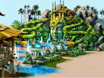 Cirque du Soliel Theme Park