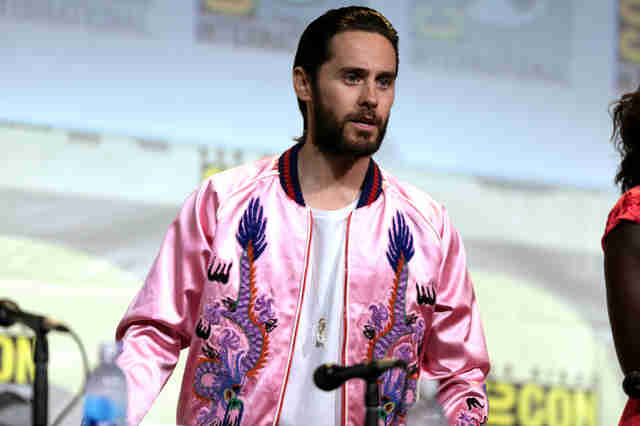 jared leto speaking at comic con