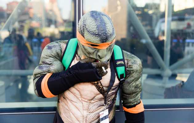 Comic Con Invades NYC as Cosplayers Take Over the Streets