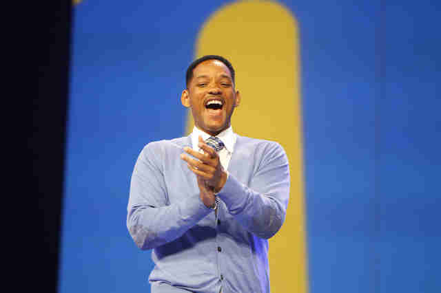 will smith speaking