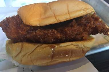 shake shack honey fried chicken sandwich