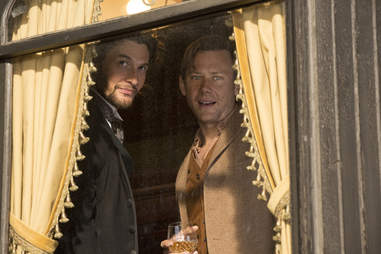 ben barnes and jimmi simpson on westworld hbo