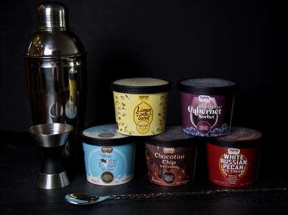 Momenti boozy ice cream
