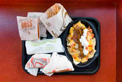 taco bell menu items