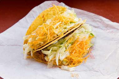 Hard Taco from taco bell