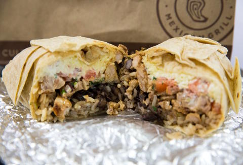 Chipotle Free Burrito Halloween