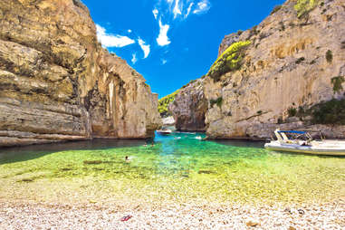 Vis island, Dalmatia, Croatia