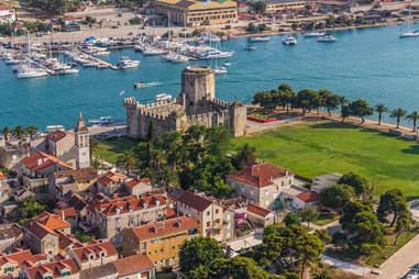 medieval town croatia